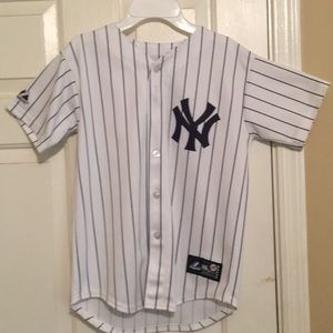 New York Yankees button down